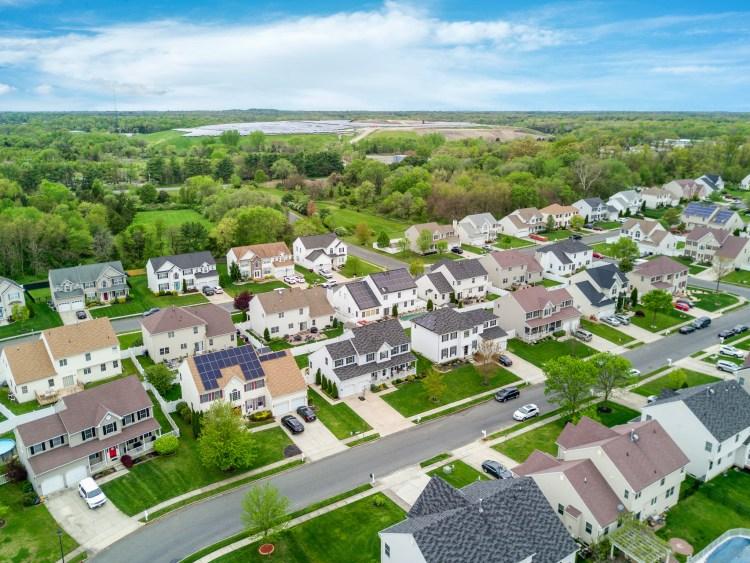 Aerial view of 21 Honeysuckle Drive