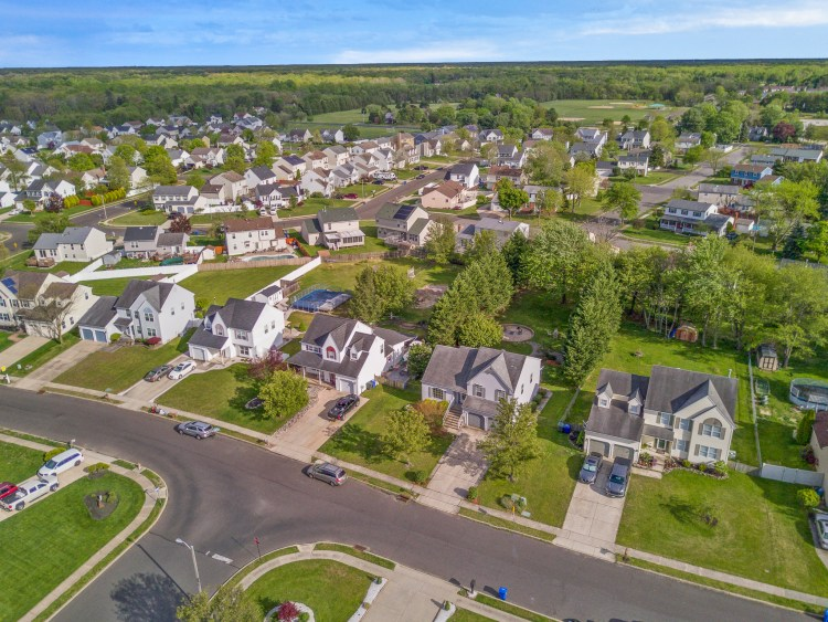320 Alfred Avenue Glassboro aerial view of the neighborhood