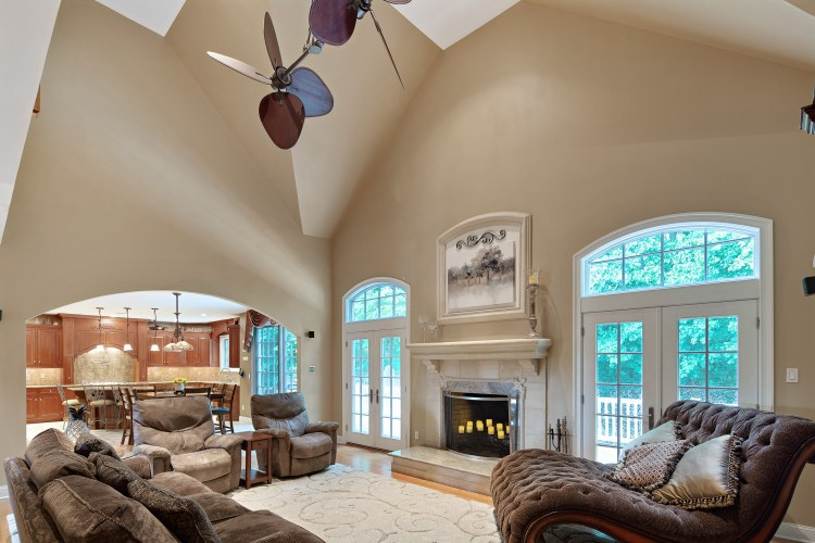 Family Room at 200 High Street Mullica Hill