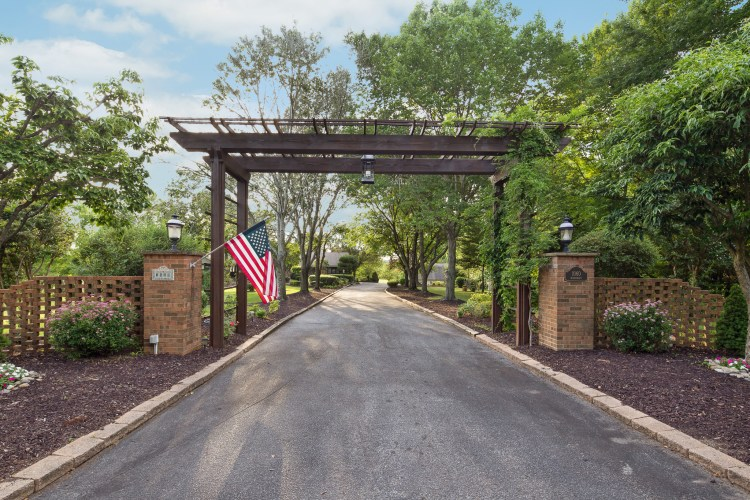 The entrance to 1060 Mullica Hill Road