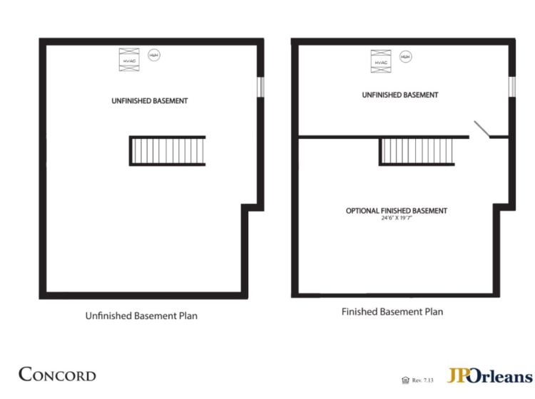 basement floor plan 705 Lexington Mews Woolwich