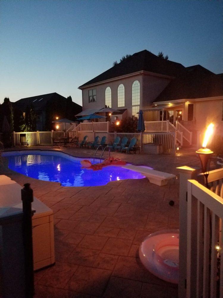 Summertime Backyard Oasis Dreams