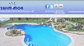 Swim-Mor Pools: South Jersey Web Design Client