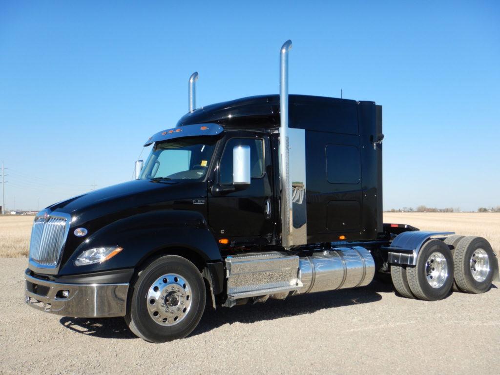 Custom International Truck Sleeper