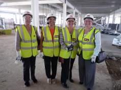 Four church ladies show their approval
