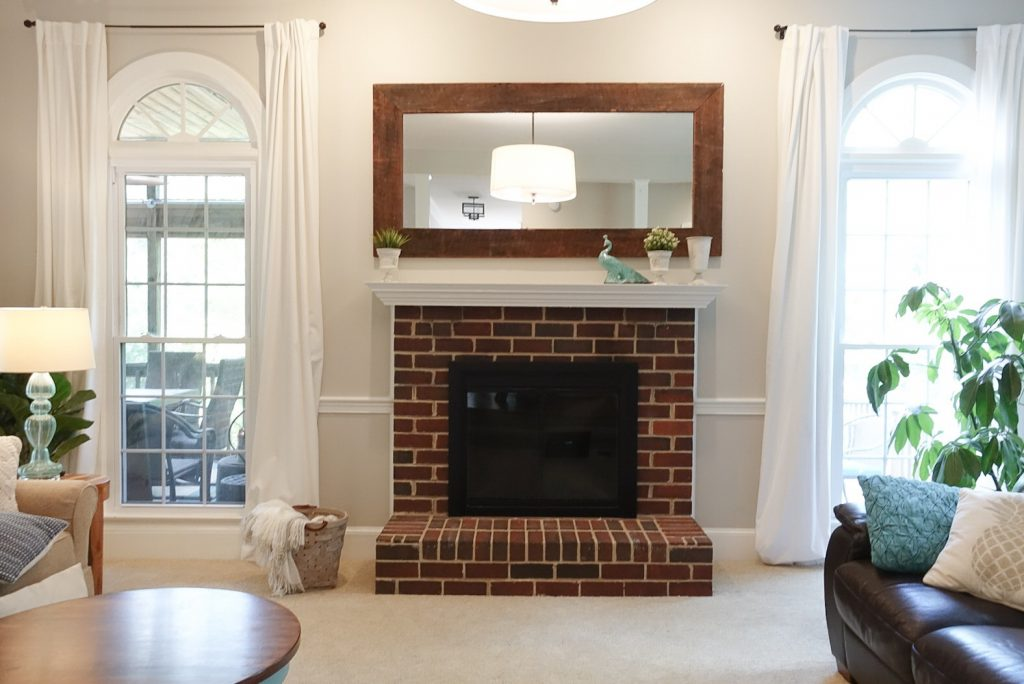 Miraculous How To Limewash Your Brick Fireplace South Lumina Style Interior Design Ideas Inesswwsoteloinfo