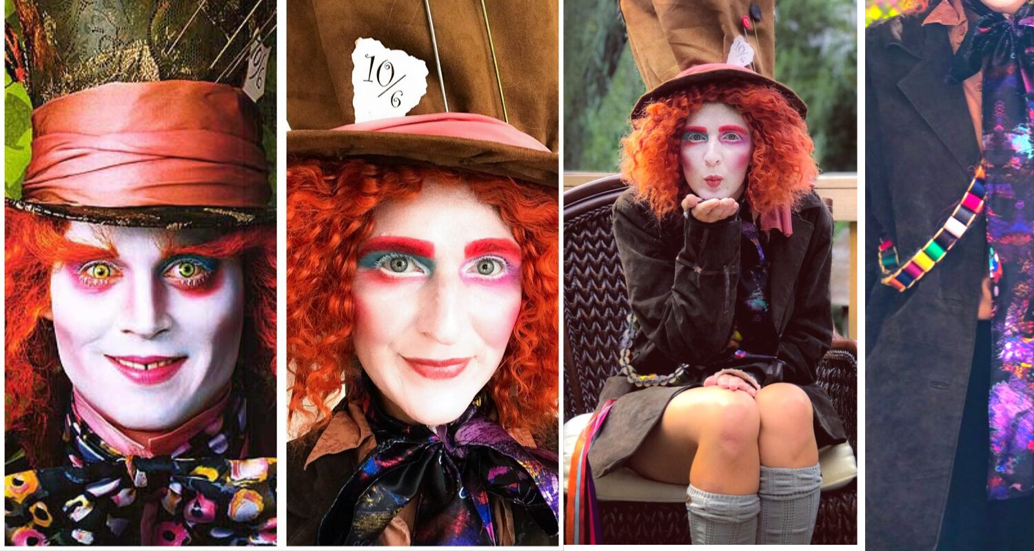 Mad Hatter Makeup Tutorial Costume South Lumina Style