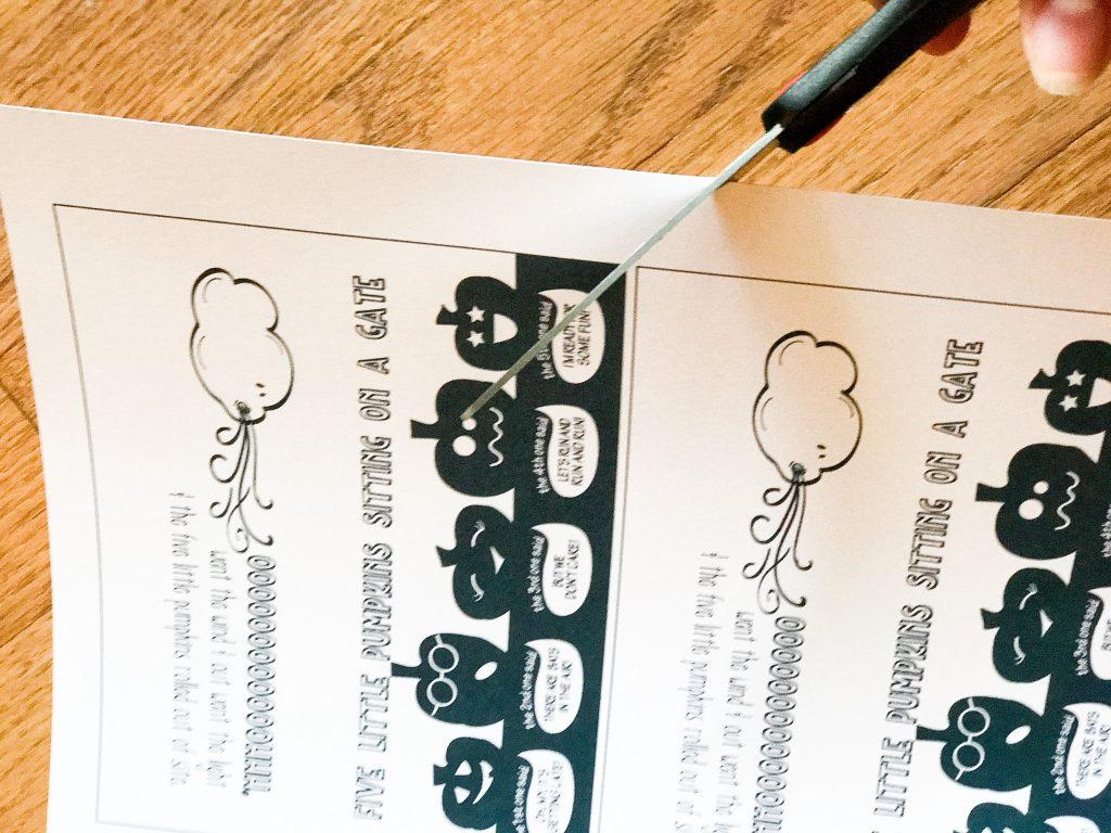Five Little Pumpkins Favor And Free Printable