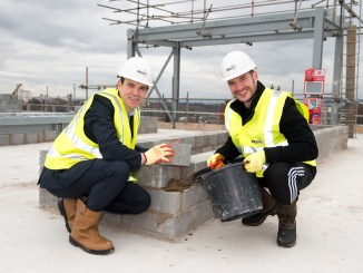 Stockport Exchange development reaches new heights