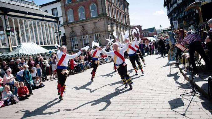 Stockport Old Town Folk Festival 2015