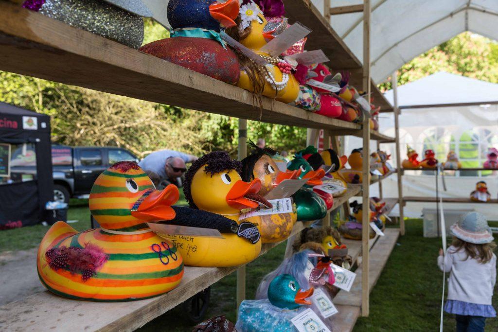 Bramhall and Woodford Rotary Club Duck Race