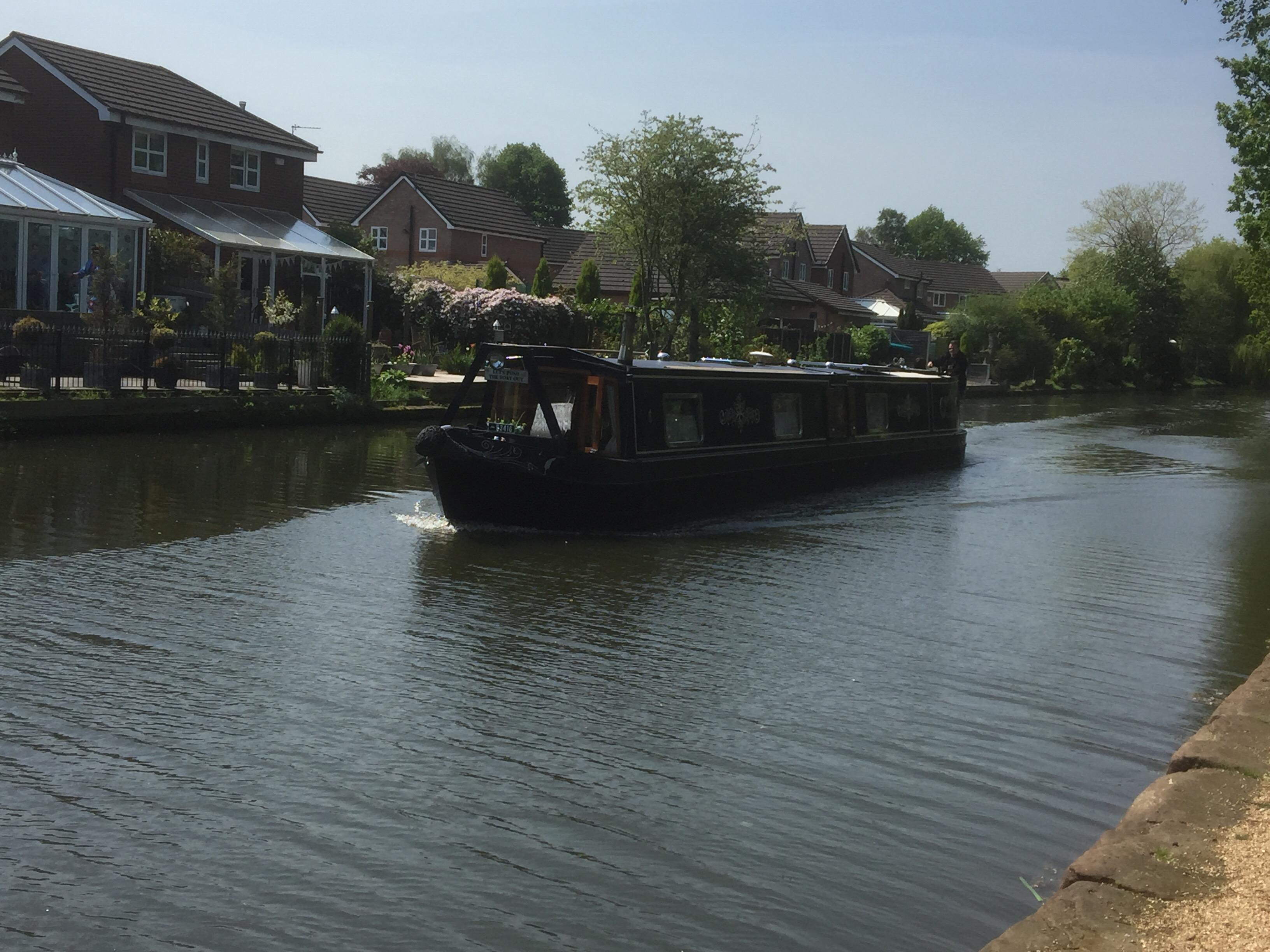 Cruising on the Bridgewater Canal
