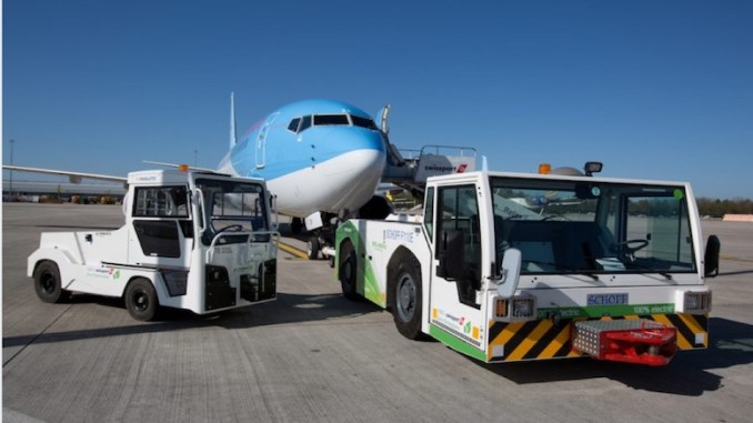 Zero emmisions at Manchester Airport