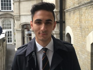 Ali Abod, 17, who is a pupil at The Manchester Grammar School, won the Shine award for the School's newspaper The New Mancunian