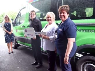 The Lord's Taverners present Minibus to Together Trust