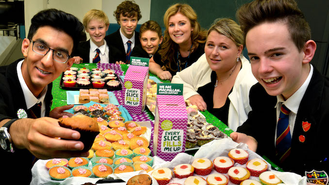 The St Ambrose bake off for Macmillan Cancer Care
