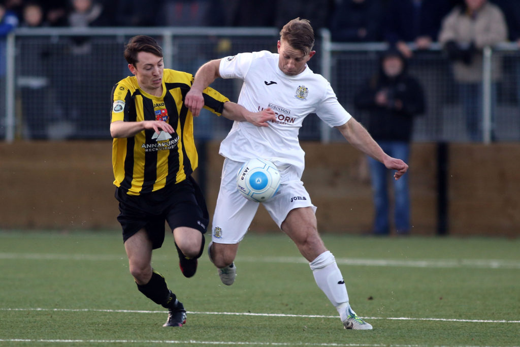 Gary Stopforth takes control for the Hatters