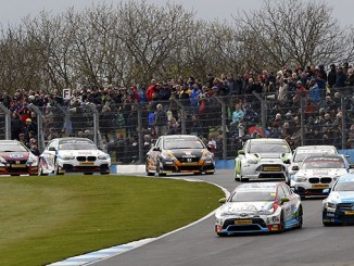 Tom Ingram at the British Touring Car Championship