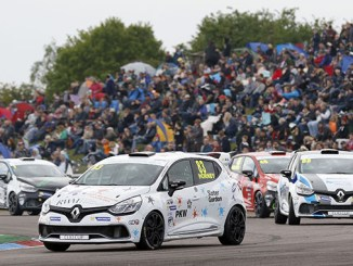 Kyle Hornby, Renault UK Clio Cup, Thruxton
