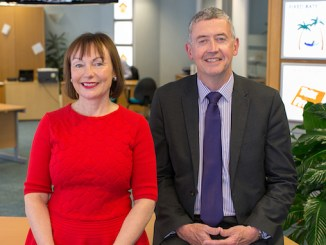 Rosie Grant and Tom Gurrie have joined the Vernon Building Society