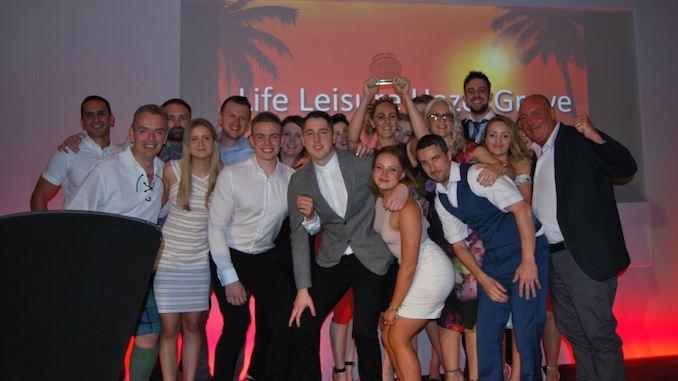 Life Leisure Centre of the Year winner - Hazel Grove