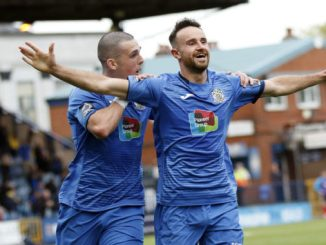 Matty Warburton. Stockport County FC 2-0 Altrincham FC. Emirates FA Cup