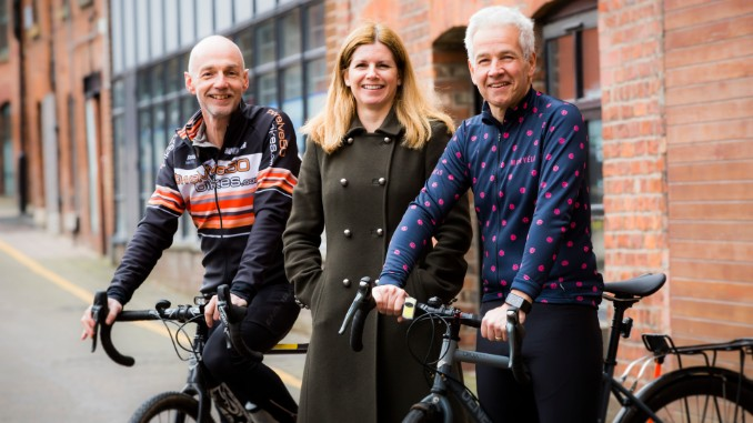 Jim Truscott (Beyond Corporate), Fiona Wood, (McAlister Family Law) and Dominic Tinner, Head of Fundraising at Seashell Trust