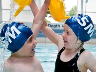 Stockport Metro swimmers