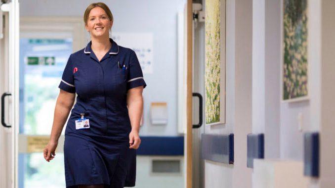 Nurse Kelly Foster