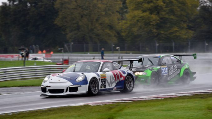 BARC races at Oulton Park