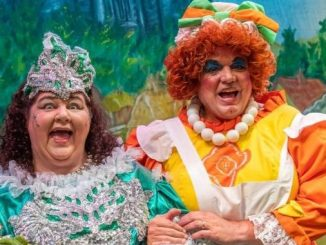 Ted Robbins and Cheryl Fergison