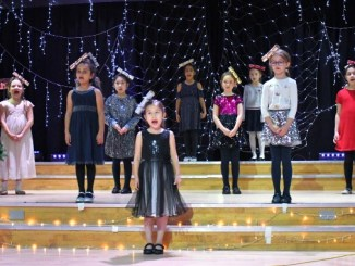 Withington's youngest Junior pupils donned festive outfits to sing 'I'm a Little Christmas Cracker'