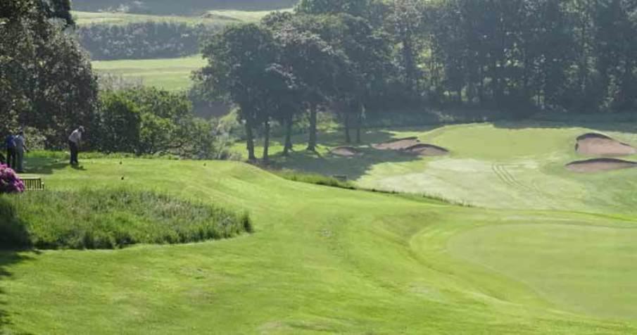 Reddish Vale Golf Club's sixth hole