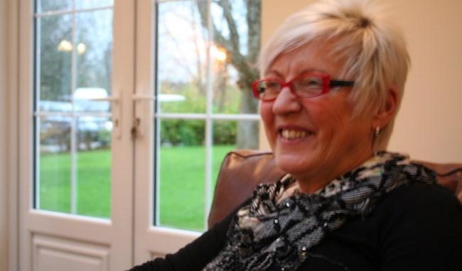 Beechwood volunteer Jean Fairhurst