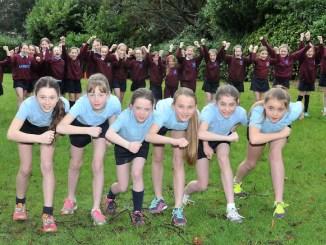 Loreto Preparatory School's champion cross-country runners