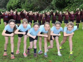 Loreto Preparatory School's champion cross-country runners