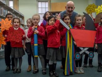 World Book Day: Nick Sharratt in Withington