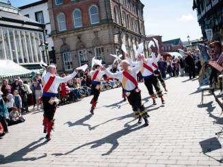 Stockport Old Town Folk Festival 2015