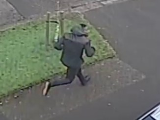 CCTV footage after a teenage girl was attacked in Chorlton