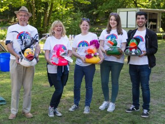 Bramhall and Woodford Rotary Club Duck Race
