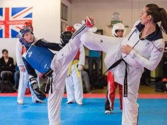 Bianca Walkden delivered a masterclass at Stockport's Jeon-sa Taekwondo Academy
