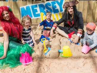 Stockport's Merseybay beach