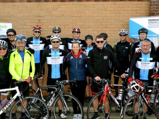 The Morgan Sandal team, sponsors of the 2015 Seashell Sportive