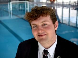 Jack Waybill swam 3km for theAlex Hulme Foundation