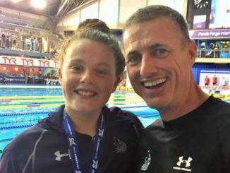 Holly Hibbott and Sean Kelly
