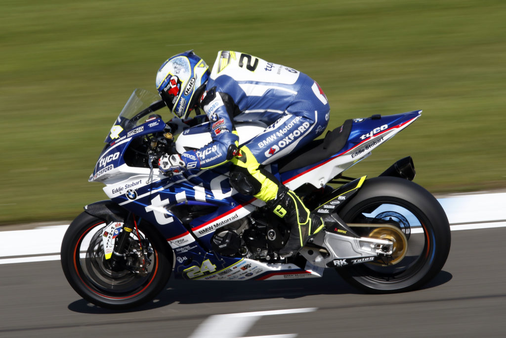 Christian Iddon claimed third place in Race1 at Donington Park