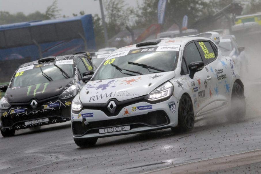 Kyle Hornby in action at Croft