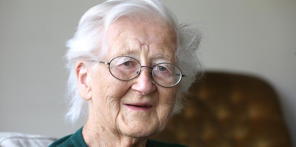 Sir Barnes Wallis' daughter Mary Stopes-Roe