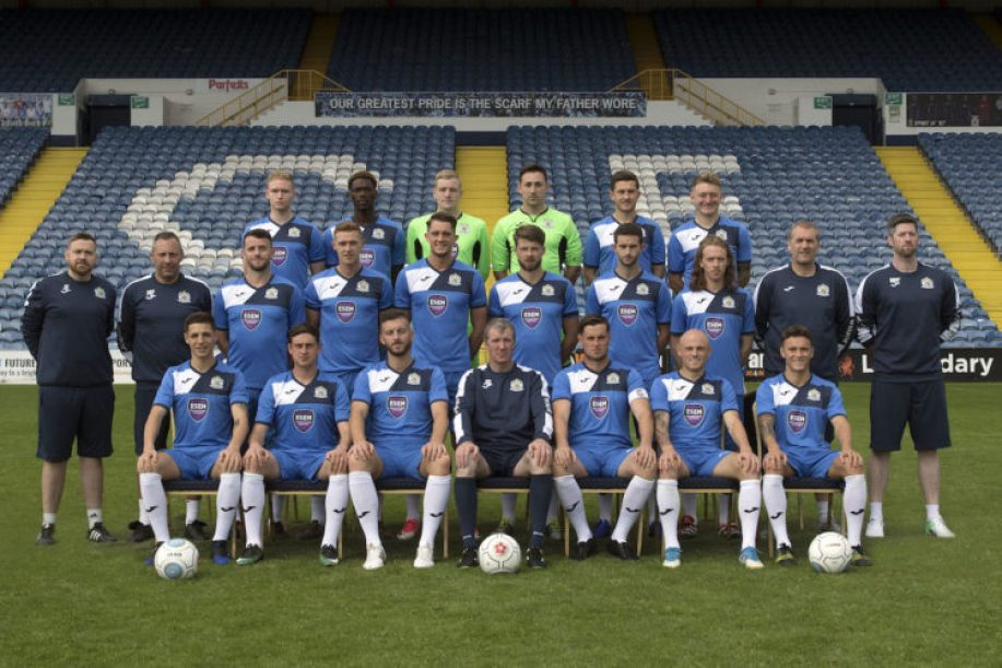 Stockport County first team for 2017/18