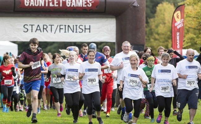 The Gauntlet Games Charity Obstacle Races In Heaton Park